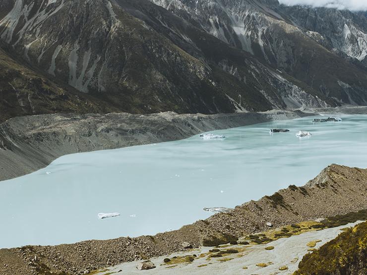 Tasman Glacier River, Levi Caleb Allen