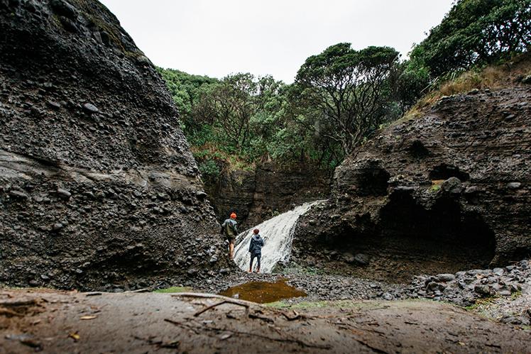 Waterfall Hangs in the Arrowood