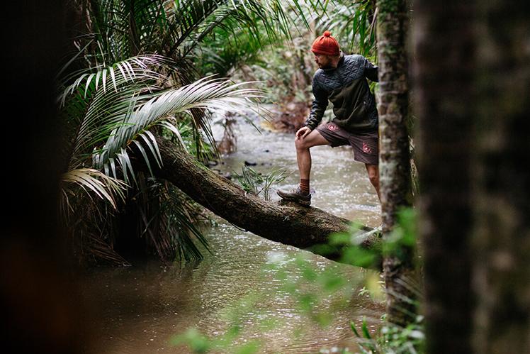 Richard Hodder on the River Crossing