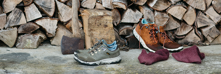 The Teva Arrowood Lux Mid WP and the Arrowood Lux WP