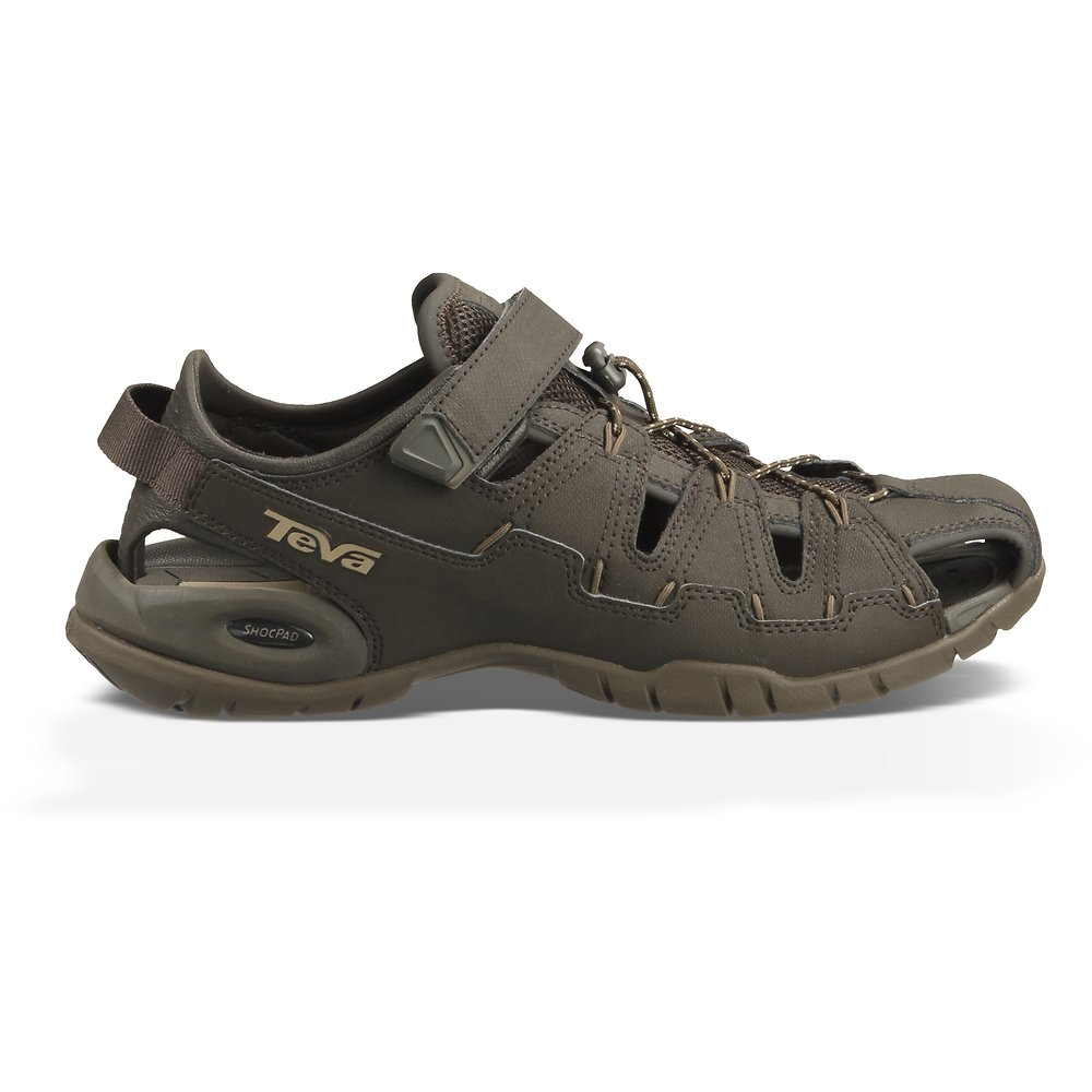 Image of TEVA BLACK/ OLIVE MEN'S DOZER 4