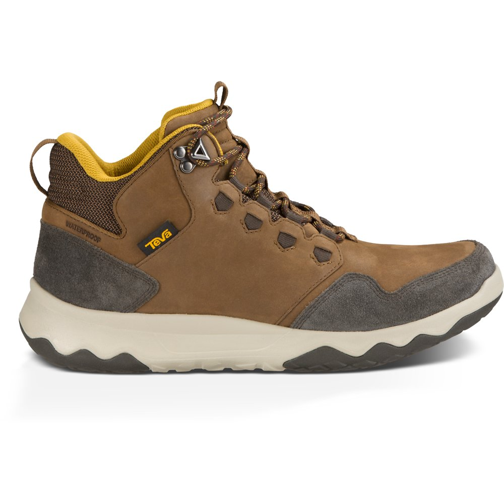 Image of TEVA BROWN MEN'S ARROWOOD LUX MID WATERPROOF