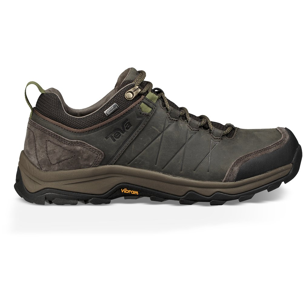 Image of TEVA BLACK/ OLIVE MEN'S ARROWOOD RIVA WATERPROOF